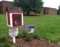 Little Free Library at M-S