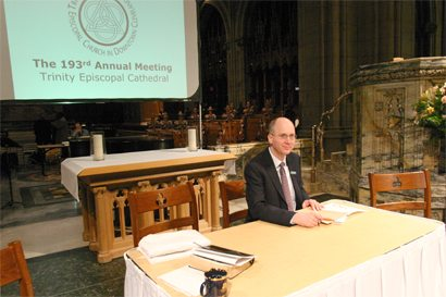 Photo: From Trinity's 193rd Annual Meeting