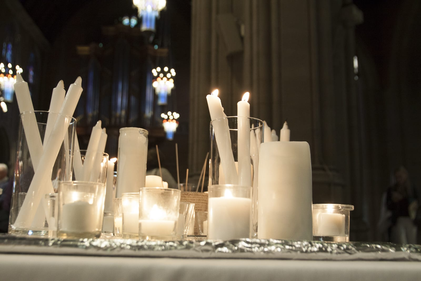 Candles for All Saint's Sunday