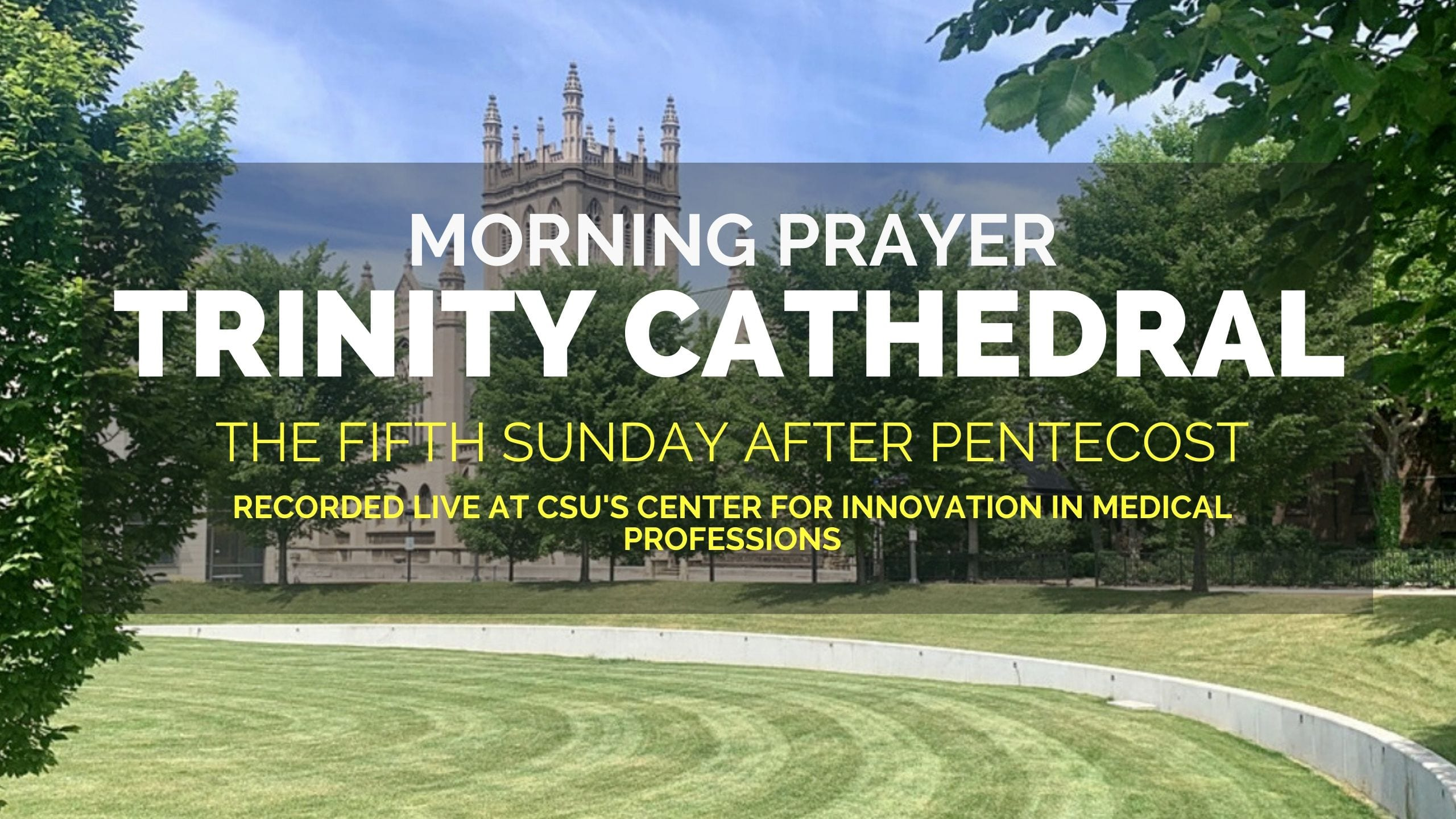 The Fifth Sunday After Pentecost — Morning Prayer, July 5, 2020