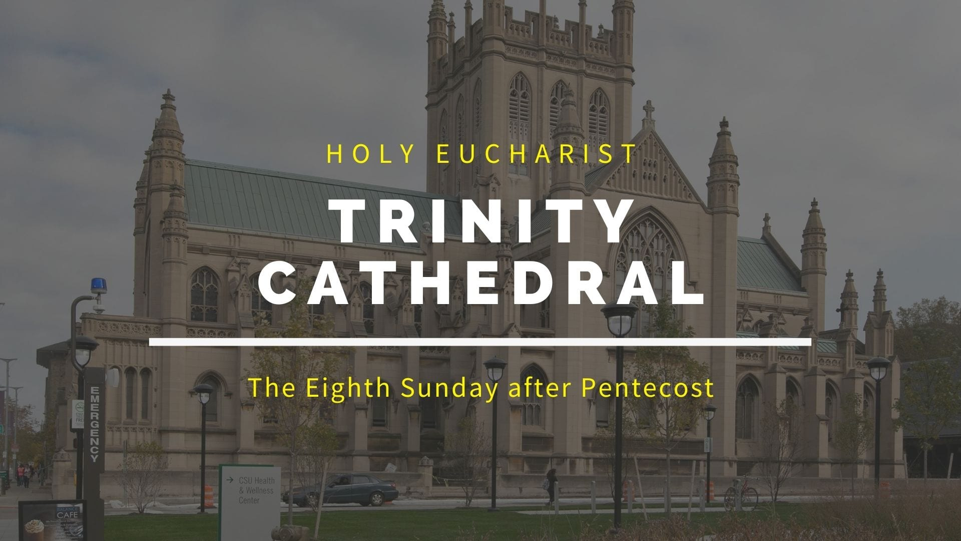 The Eighth Sunday After Pentecost — July 26, 2020
