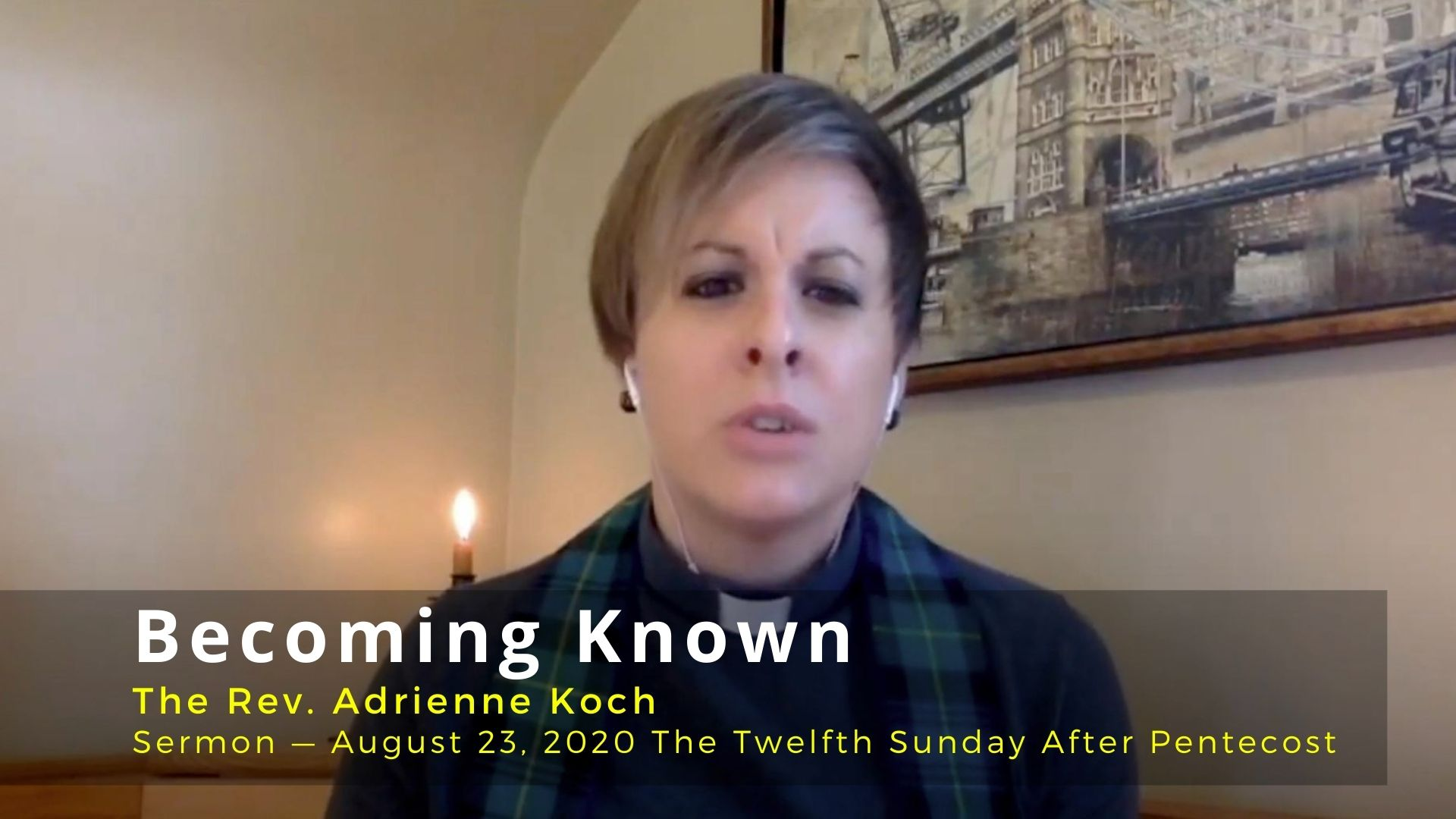 Video Sermon: Becoming Known