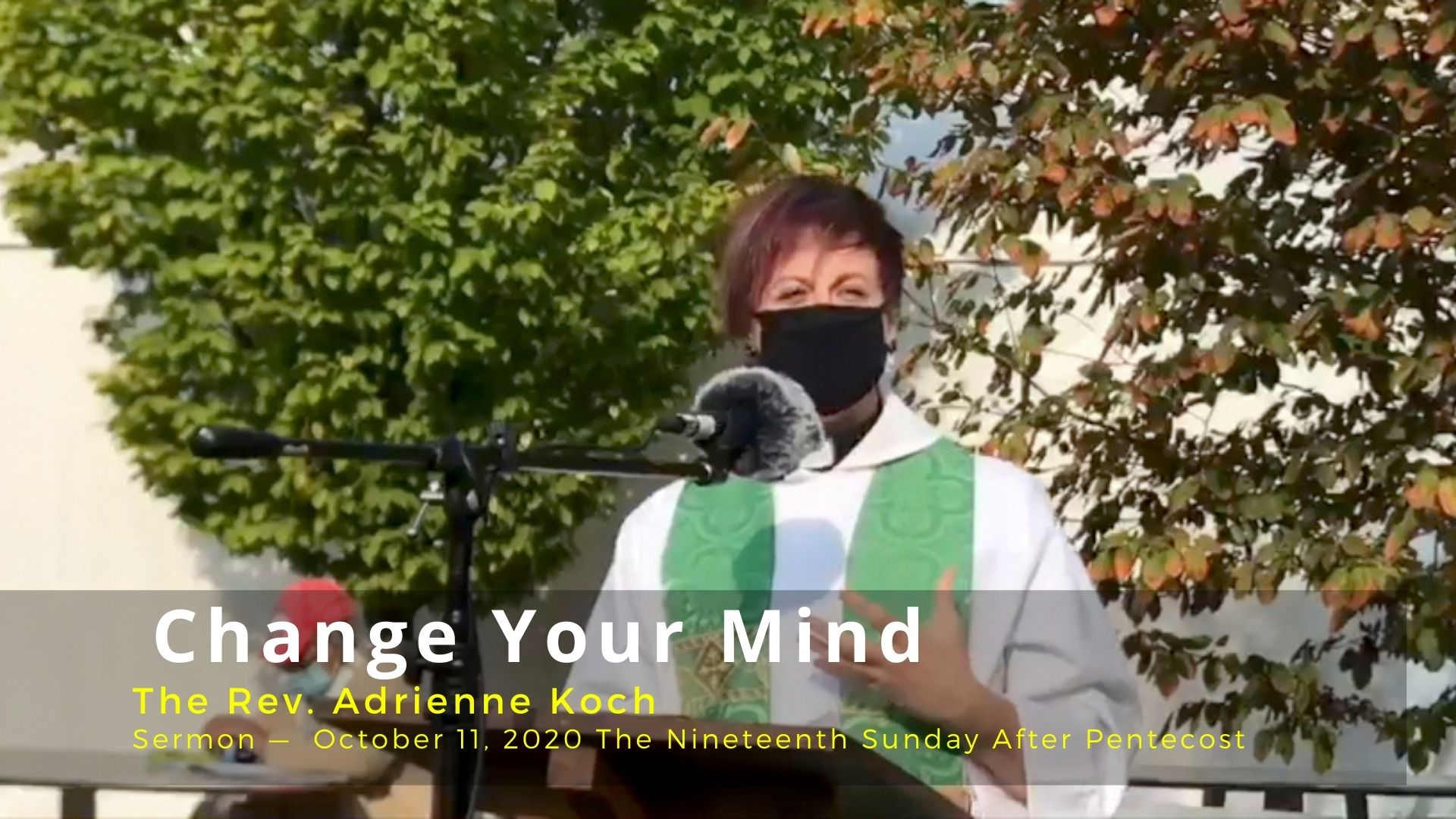 Sermon Podcast: Change Your Mind