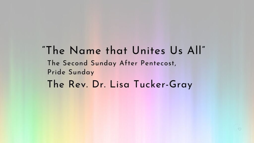 """""""The Name that Unites Us All"""""""
